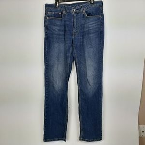 Levi's 514 Men's Jeans Size 34 X 34 Blue Denim Str